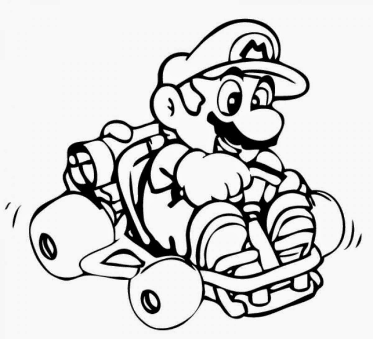 mario coloring pictures coloring pages mario coloring pages free and printable coloring mario pictures