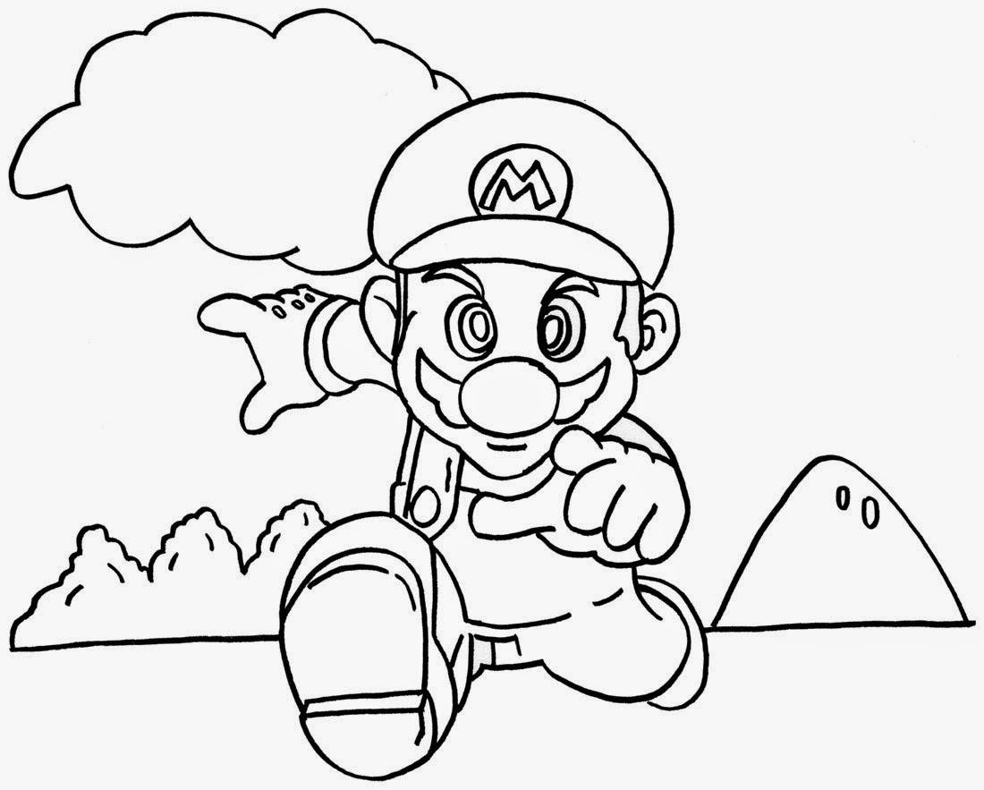 mario coloring super mario bros coloring pages printables coloring mario