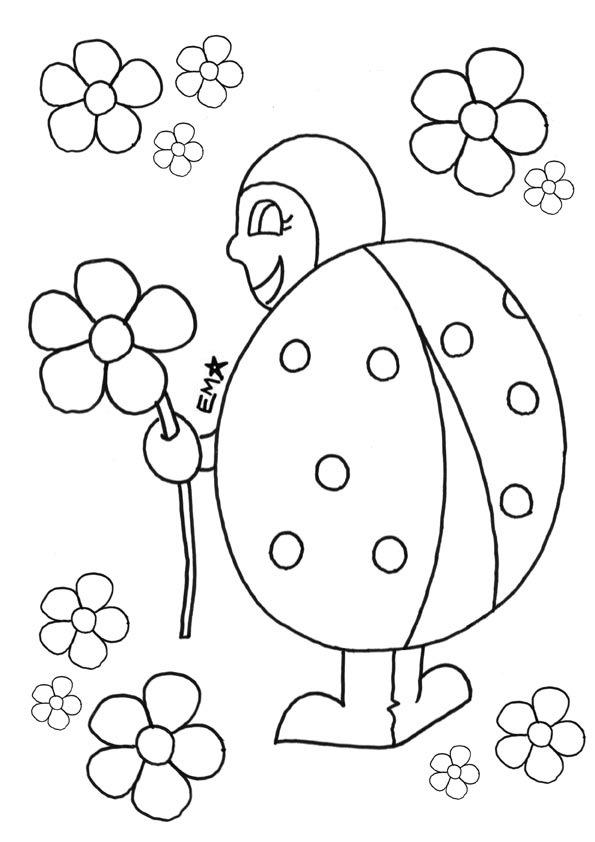 mariquita dibujo para colorear dibujos de mariquitas para colorear y pintar para dibujo colorear mariquita