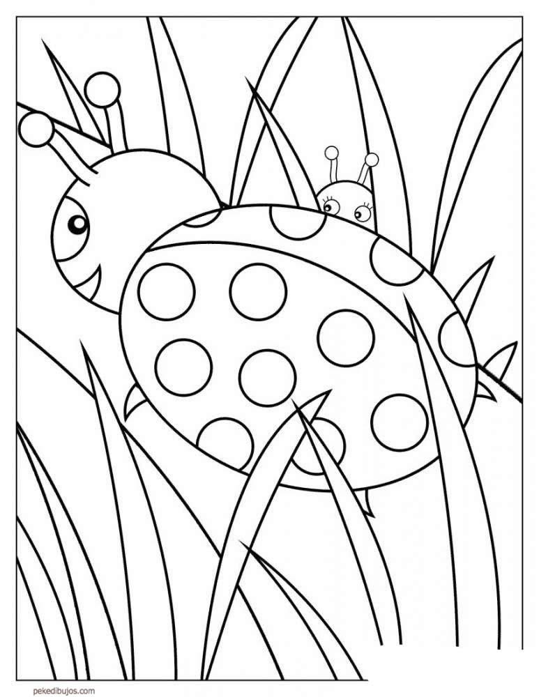 mariquita dibujo para colorear dibujos para colorear mariquitas para dibujo colorear mariquita