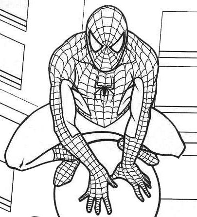 marvel pictures to colour ultimate spiderman coloring pages 04 omalovánky pictures colour marvel to