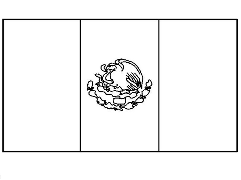 mexican flag coloring page picture coloring book mexican flag coloring page page coloring flag mexican