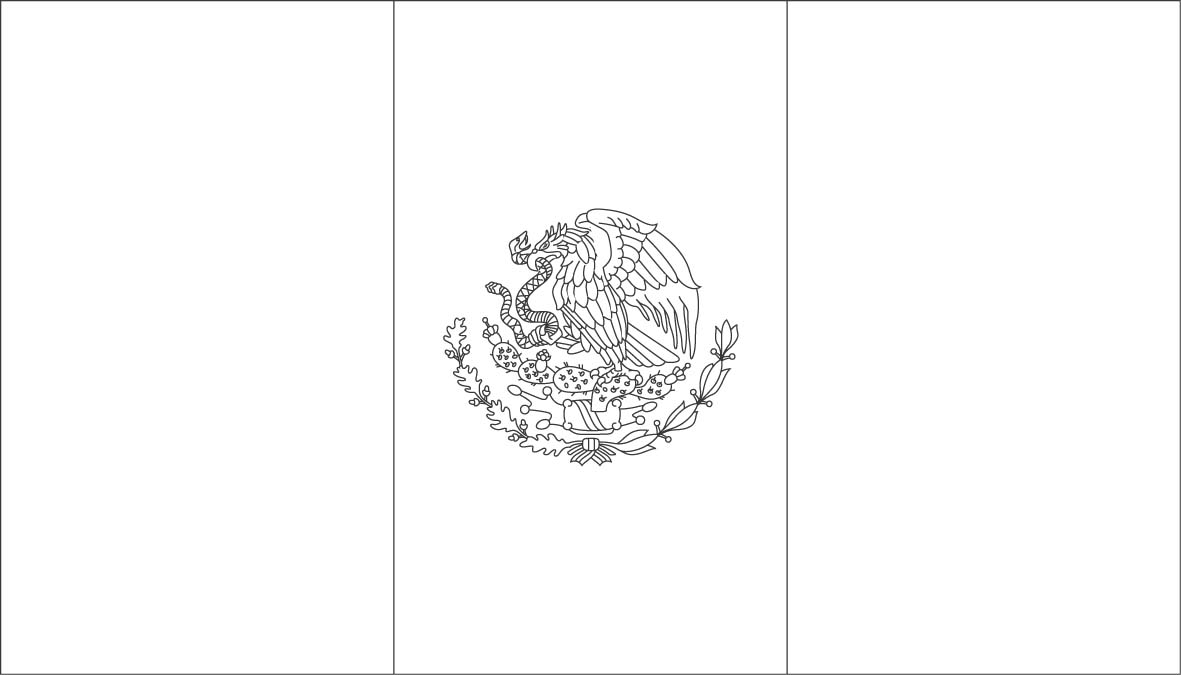 mexican flag printable central and south america unit studies eclectic mexican printable flag