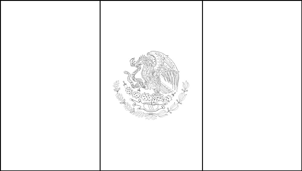 mexican flag printable free printable mexico flag color book pages 8 x 11 mexican printable flag