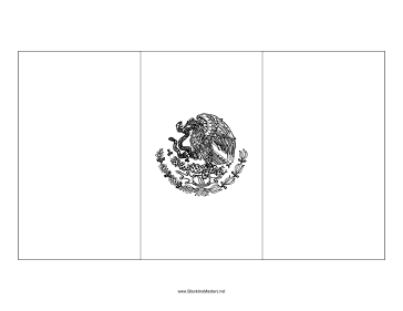 mexican flag printable mexico flag coloring page free printable printable mexican flag