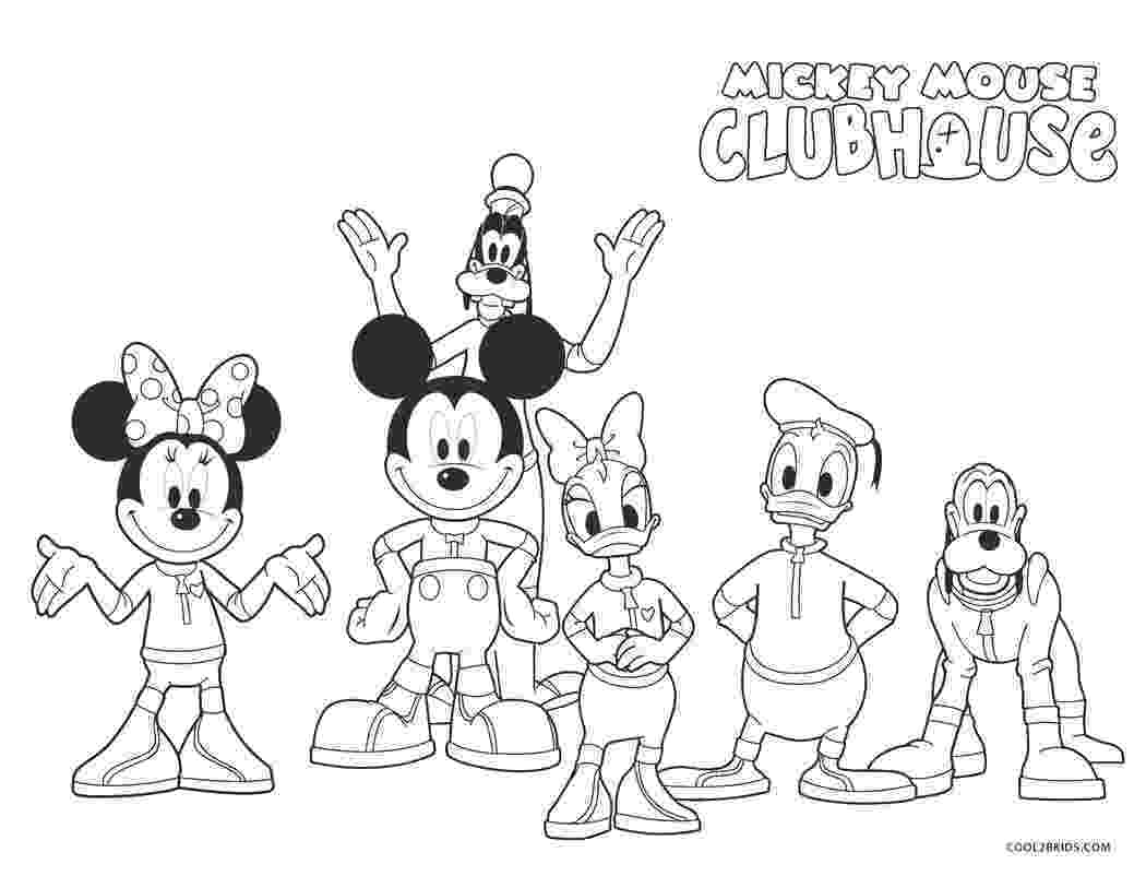 mickey mouse clubhouse coloring disney coloring pages cool2bkids mickey mouse coloring clubhouse