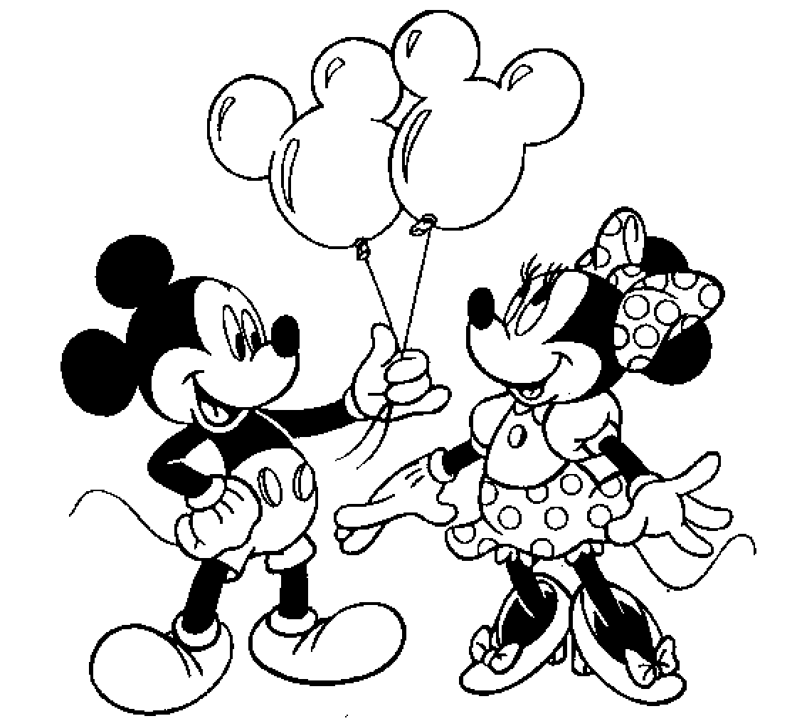 mickey mouse coloring page colour drawing free hd wallpapers mickey mouse and minnie mouse coloring page mickey