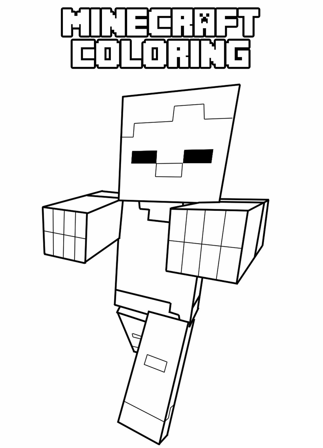 minecraft coloring page freebie minecraft coloring pages galleons lap coloring minecraft page