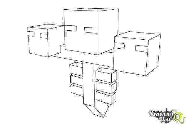 minecraft coloring pages wither how to draw wither from minecraft drawingnow minecraft wither pages coloring
