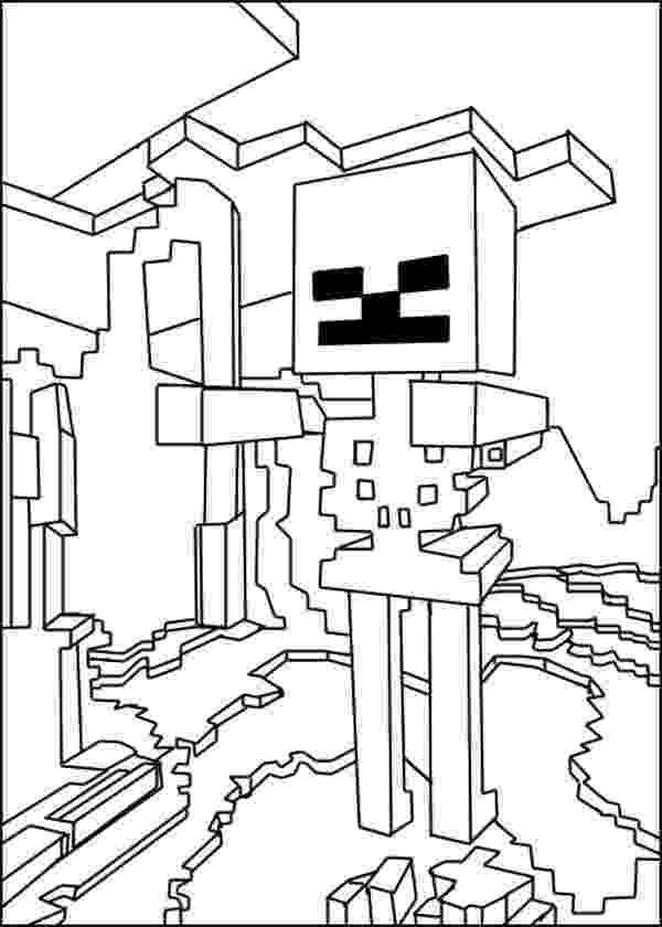 minecraft coloring pages wither minecraft kleurplaat herobrine minecraft 1 ausmalbilder coloring minecraft wither pages