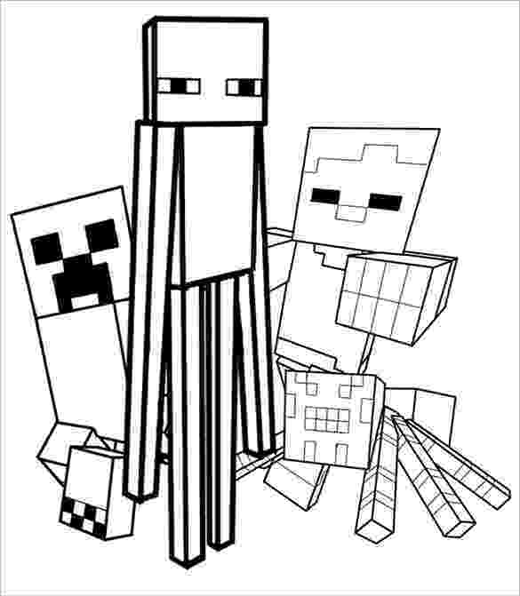 minecraft colouring pages free minecraft unicorn coloring page free printable coloring minecraft free pages colouring