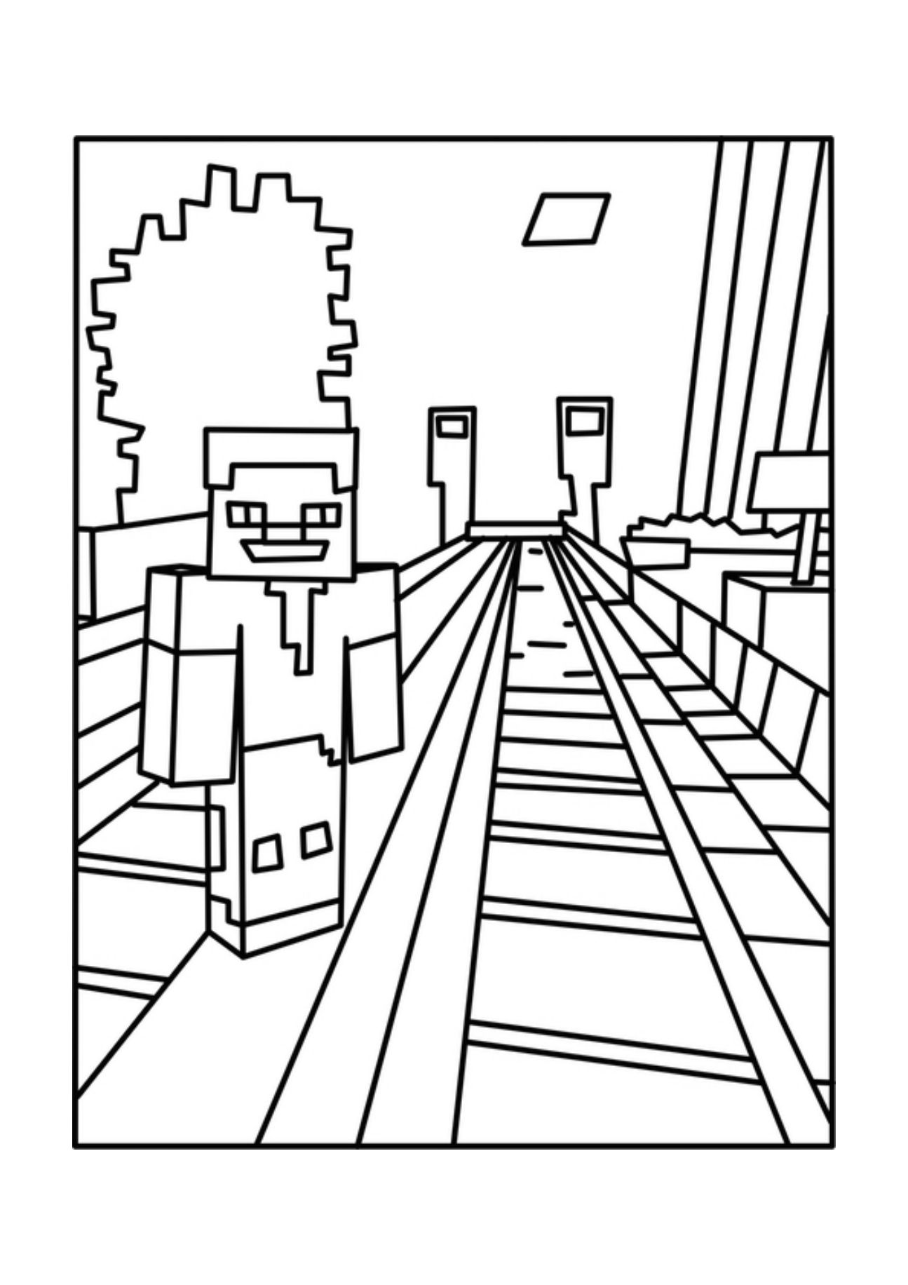 minecraft printouts a free printable minecraft gangnam style coloring page minecraft printouts
