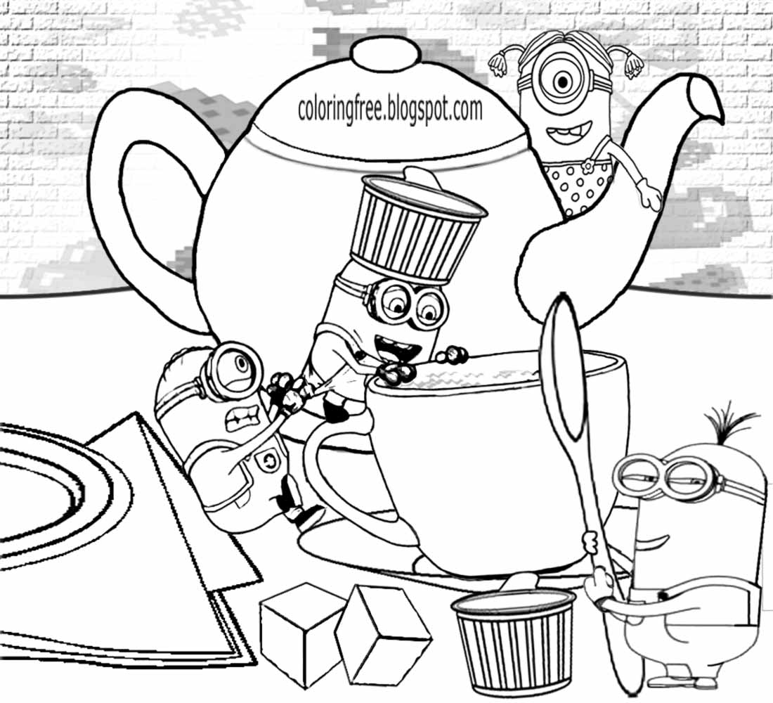 minion color sheets free coloring pages printable pictures to color kids color minion sheets