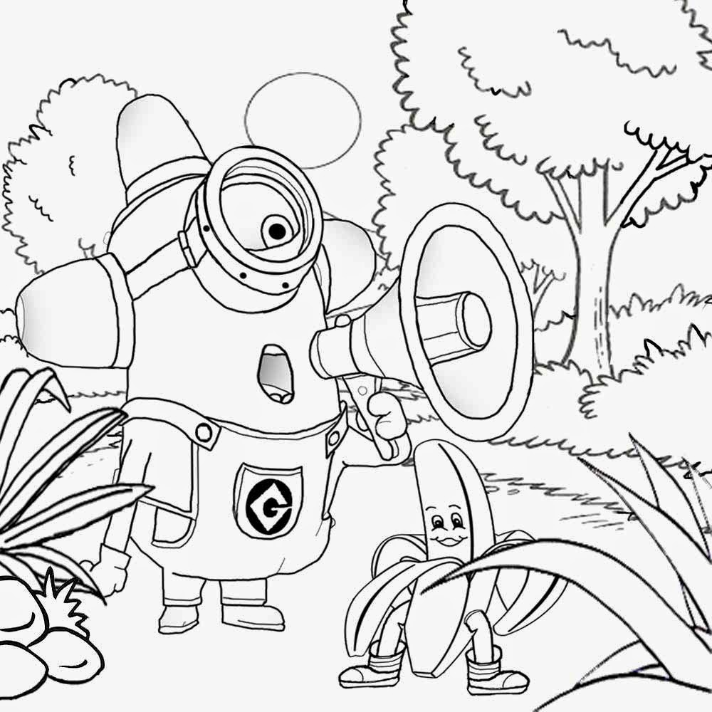 minion printable coloring pages free coloring pages printable pictures to color kids minion printable pages coloring