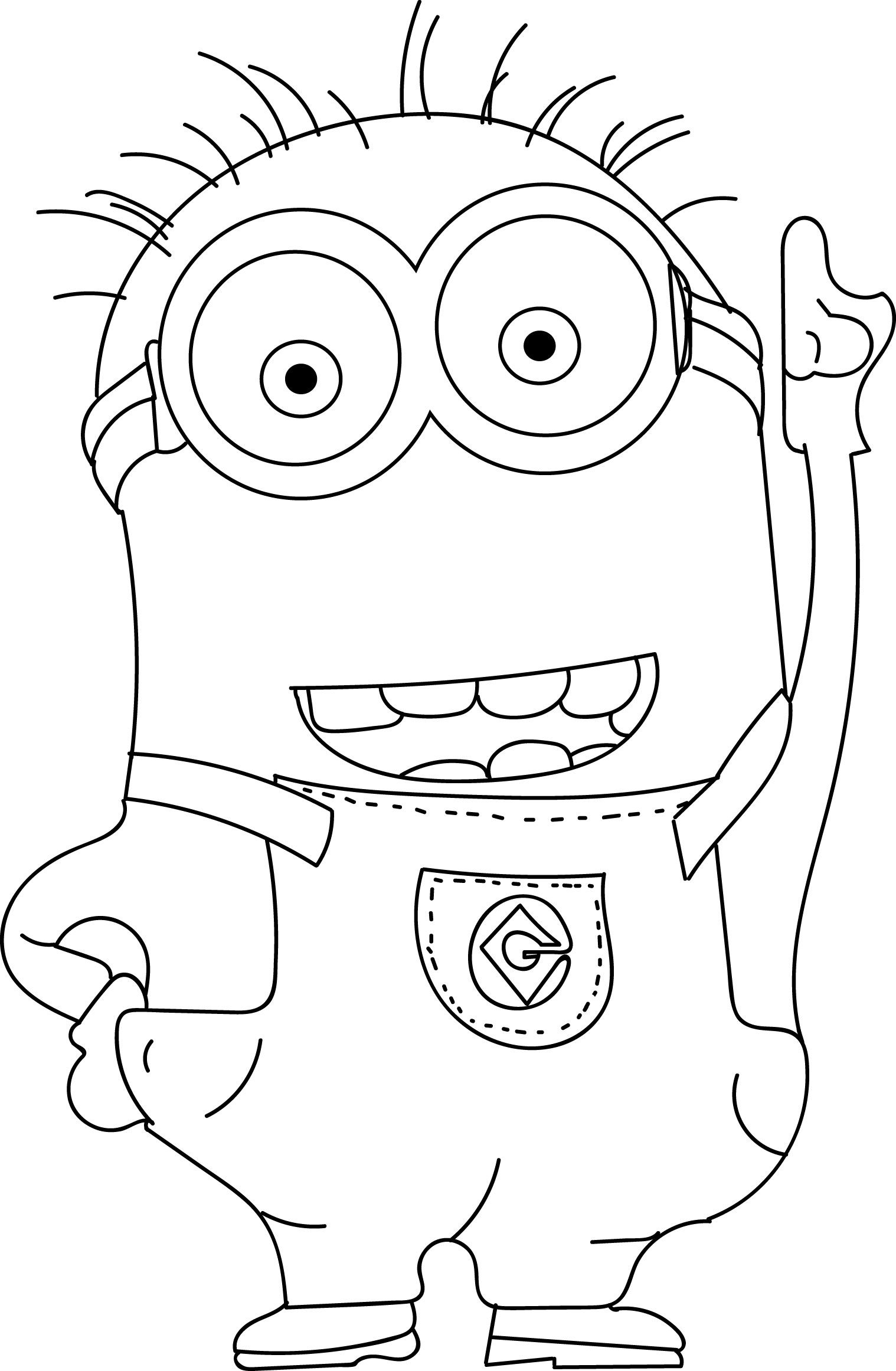 minion printable coloring pages minions coloring pages ausmalbilder wenn du mal buch printable minion pages coloring