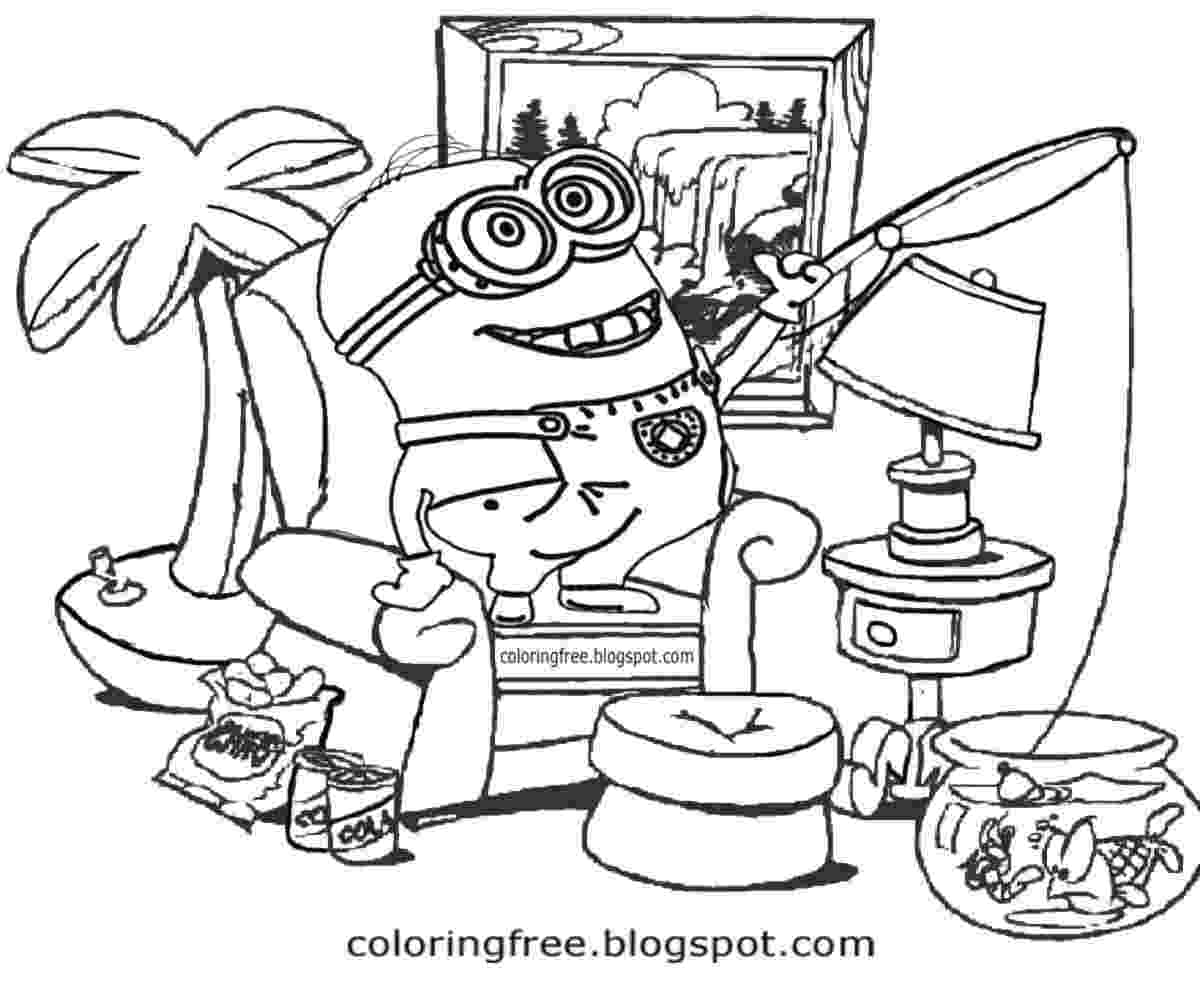 minions to color free coloring pages printable pictures to color kids to minions color