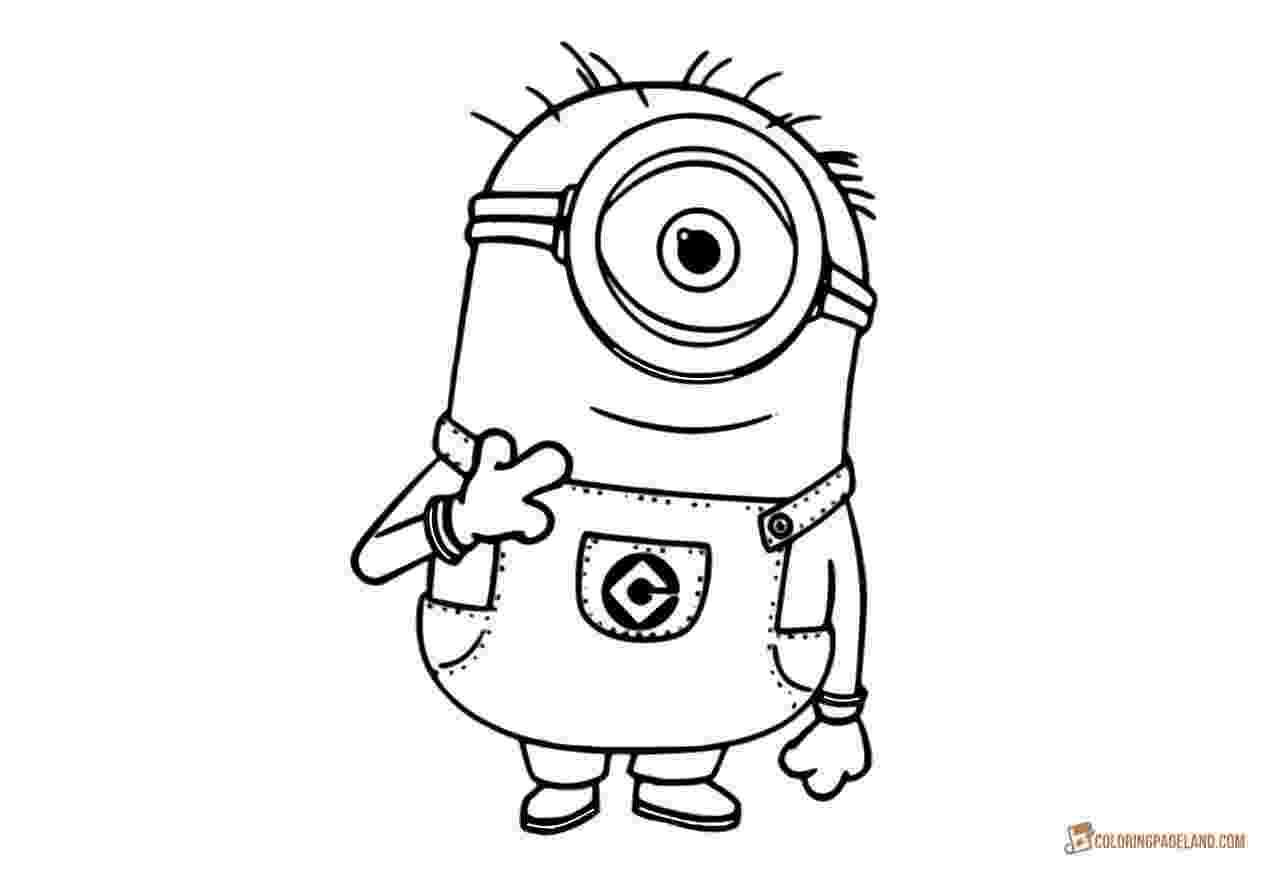 minions to color minion coloring pages for kids free printable templates minions color to
