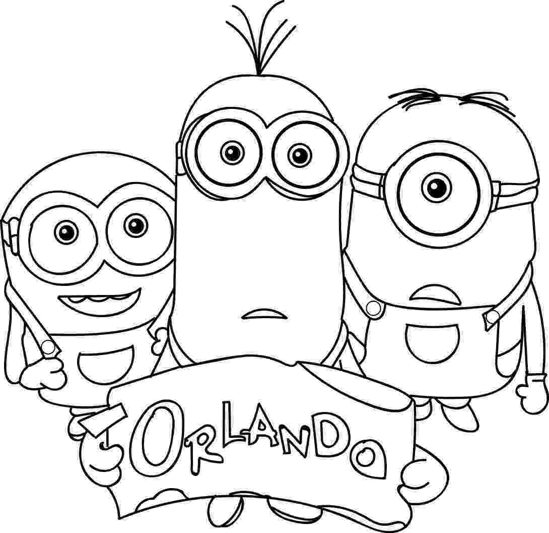 minions to color minion coloring pages only coloring pages color to minions