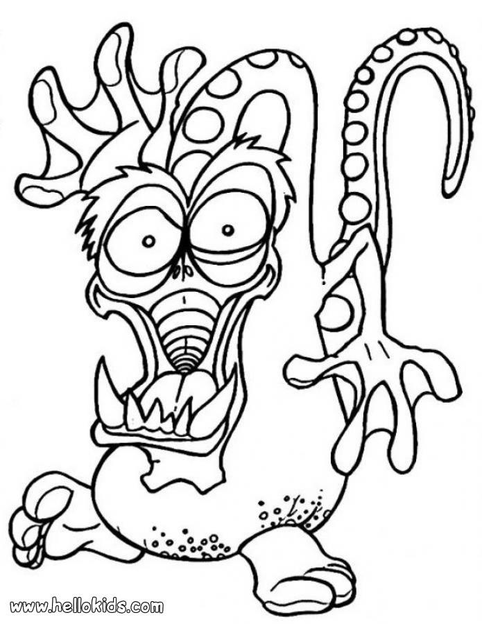 monster coloring sheets free printable monster coloring pages for kids cool2bkids sheets coloring monster