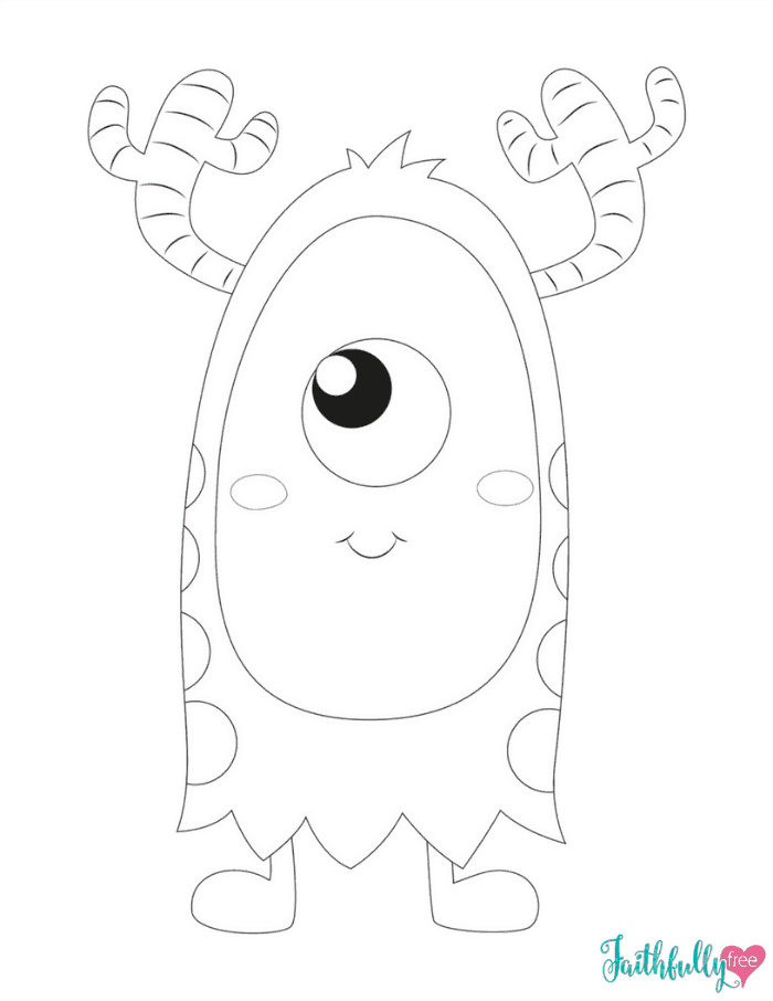 monster coloring sheets monster coloring pages free printables faithfully free coloring monster sheets