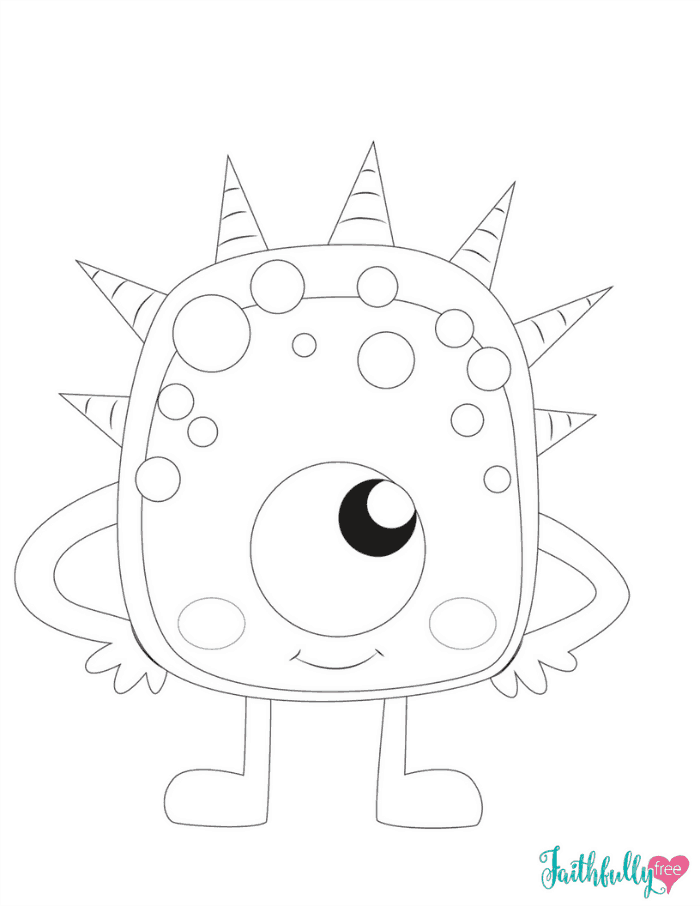 monster coloring sheets monster coloring pages free printables faithfully free monster coloring sheets