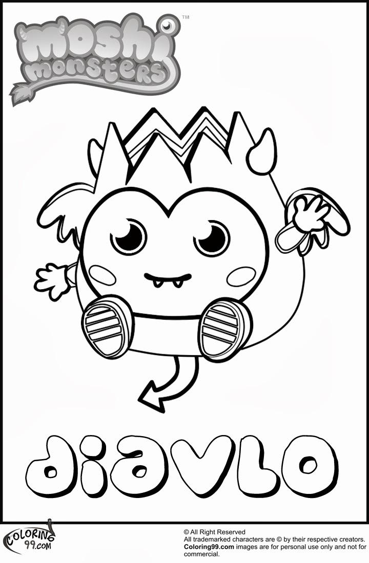 monster coloring sheets trololo blogg moshi monsters rox wallpaper code monster coloring sheets