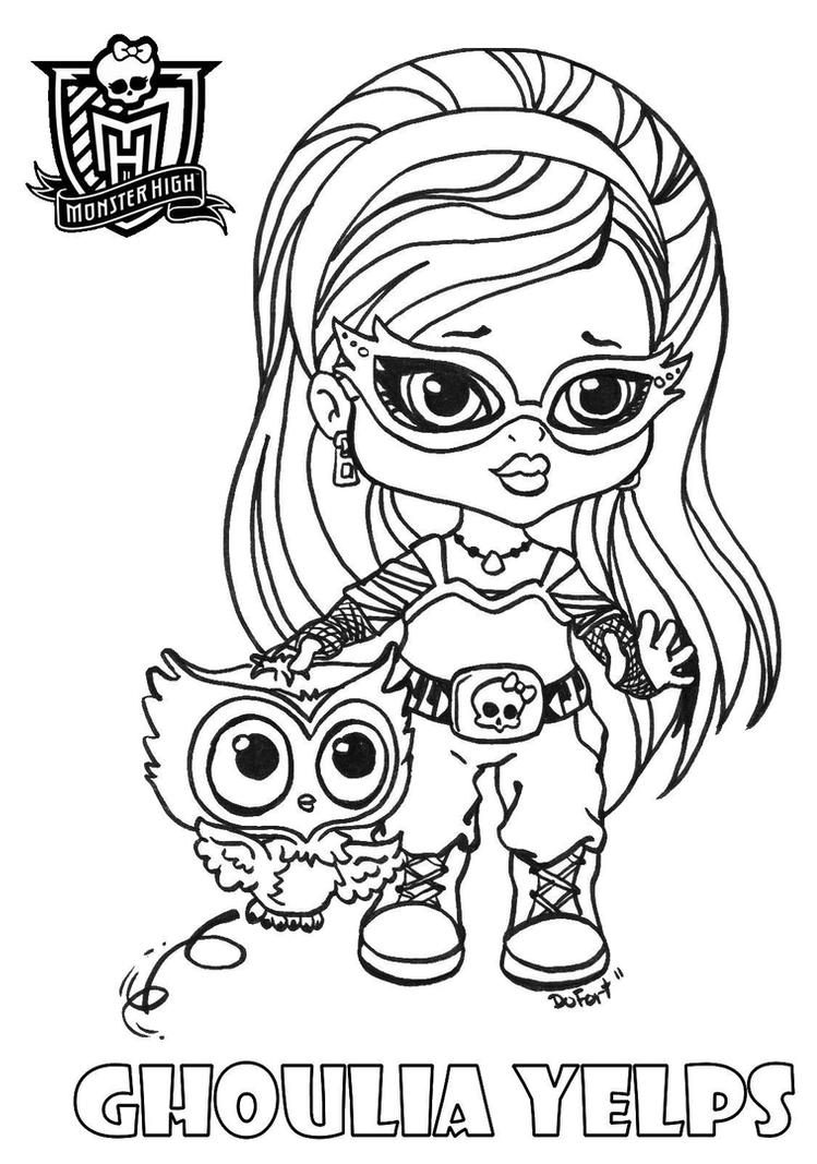 monster high baby coloring pages all about monster high dolls baby monster high character coloring baby high monster pages