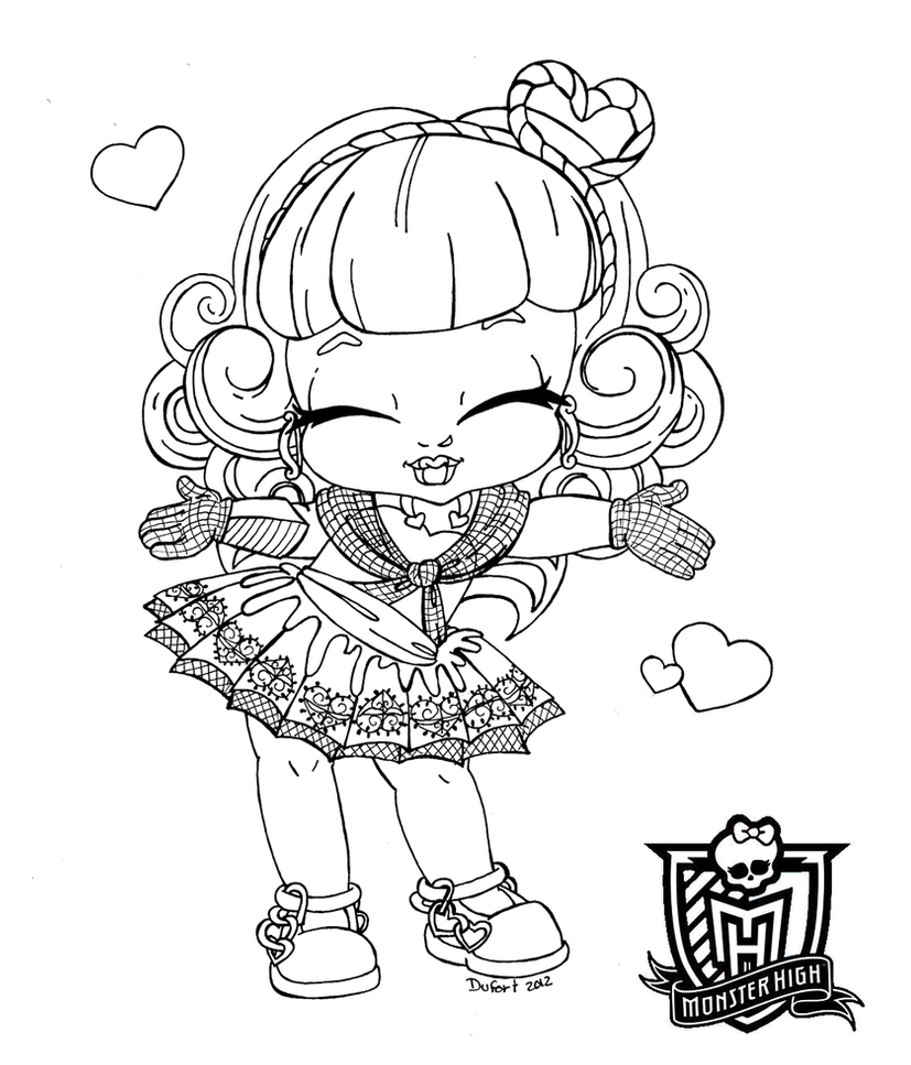 monster high baby coloring pages all about monster high dolls baby monster high character high baby pages coloring monster