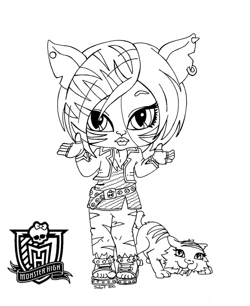monster high baby coloring pages all about monster high dolls baby monster high character pages monster coloring baby high
