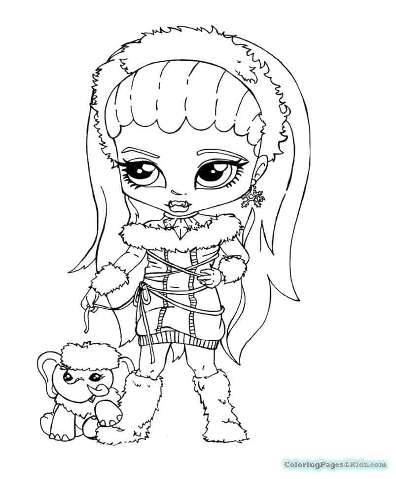 monster high baby coloring pages baby monster high coloring page getcoloringpagescom high monster coloring baby pages