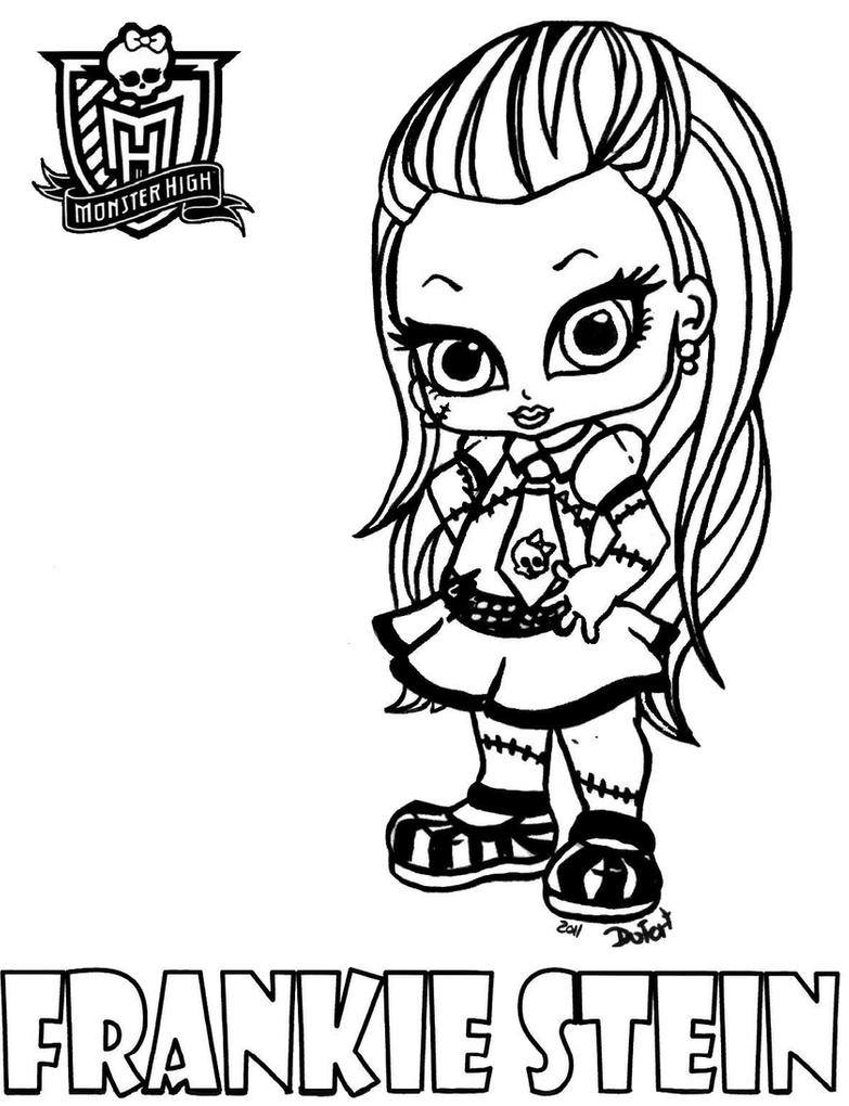 monster high baby coloring pages baby monster high coloring page getcoloringpagescom high monster coloring pages baby