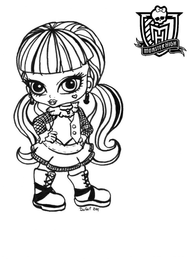 monster high baby coloring pages baby monster high coloring pages baby purrsephone et pages baby coloring high monster