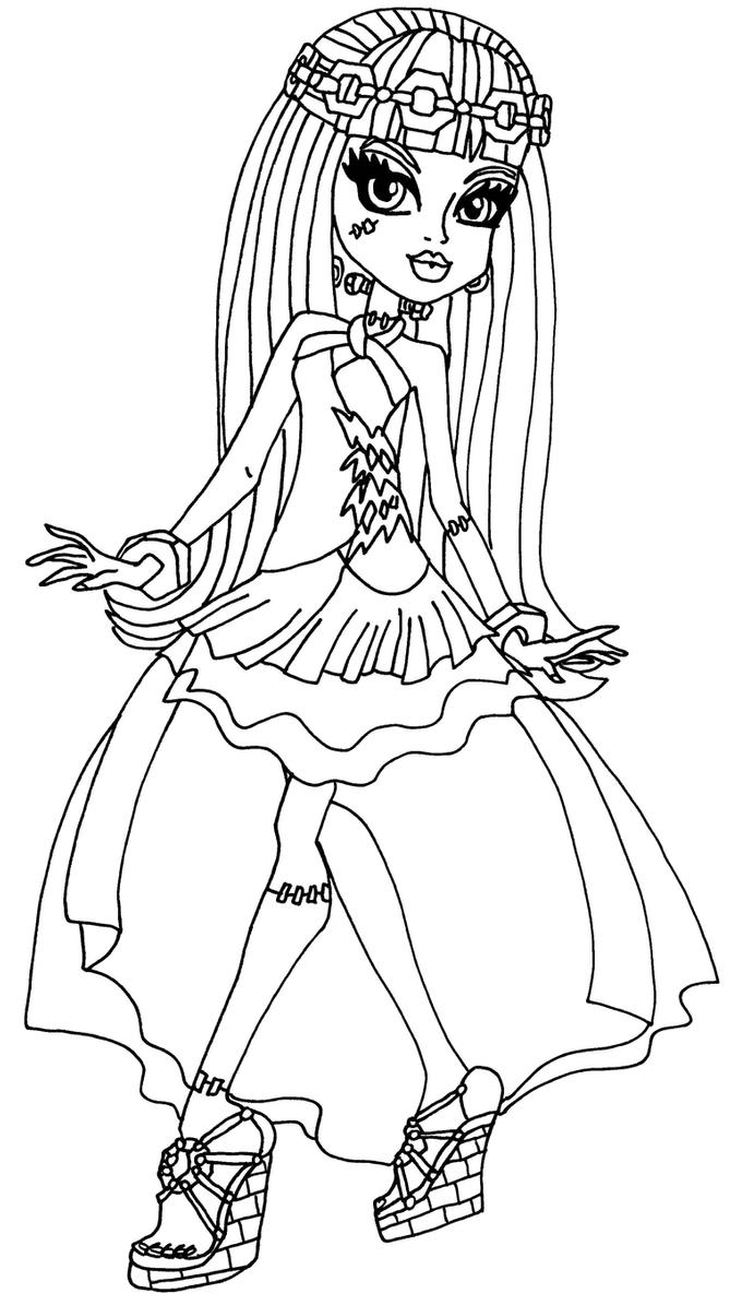 monster high coloring pages 13 wishes monster high 13 wishes coloring pages at getcoloringscom high pages coloring monster 13 wishes