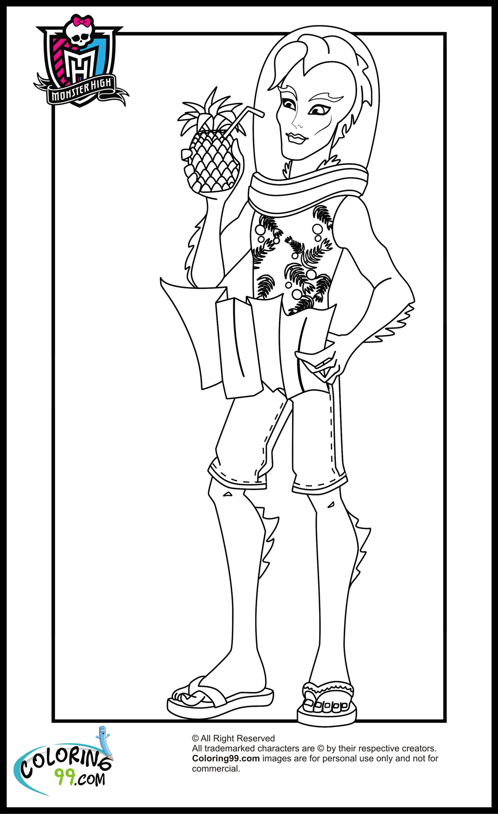 monster high colouring books monster high catty noir coloring page free printable high monster books colouring
