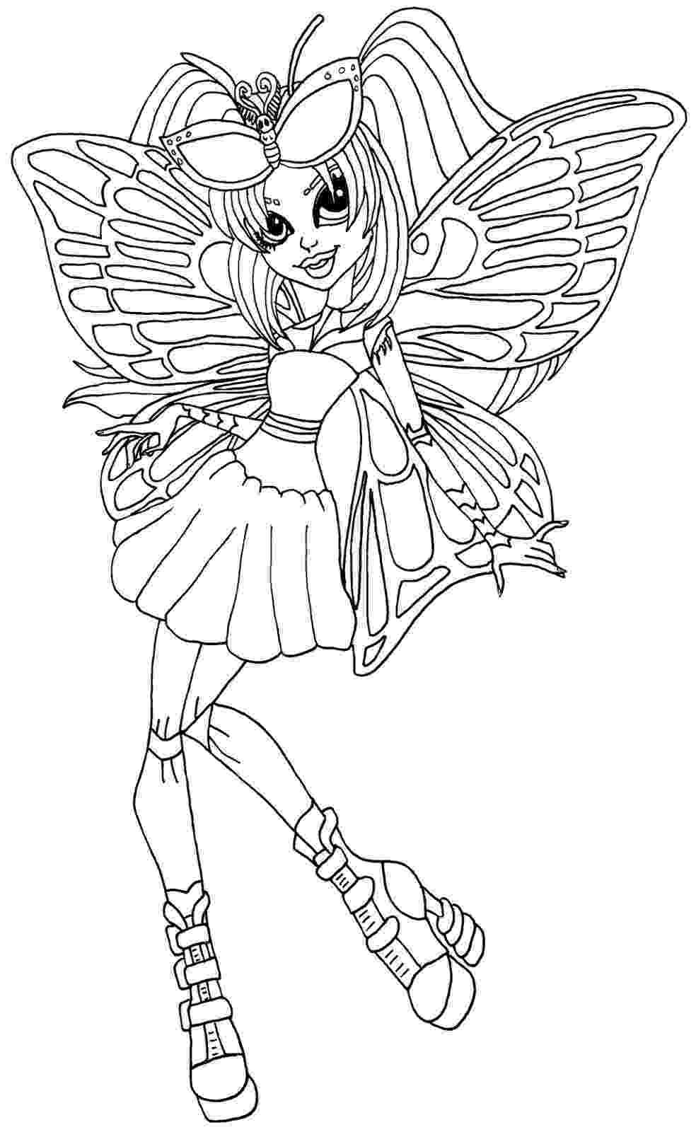 monster high vrityskuvat monster high spectra vondergeist doll coloring page free high monster vrityskuvat