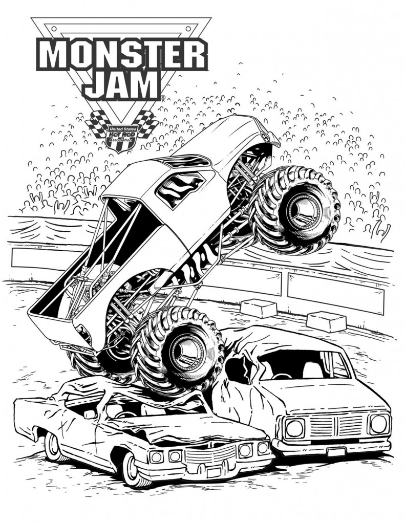 monster truck printable coloring pages bigfoot monster truck coloring page free printable coloring printable monster pages truck