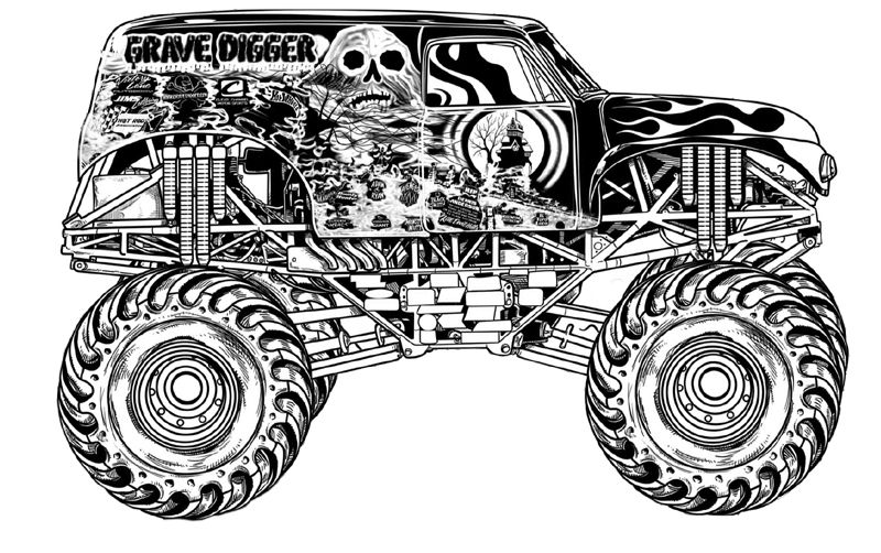 monster truck printable coloring pages free printable monster truck coloring pages for kids coloring printable monster truck pages