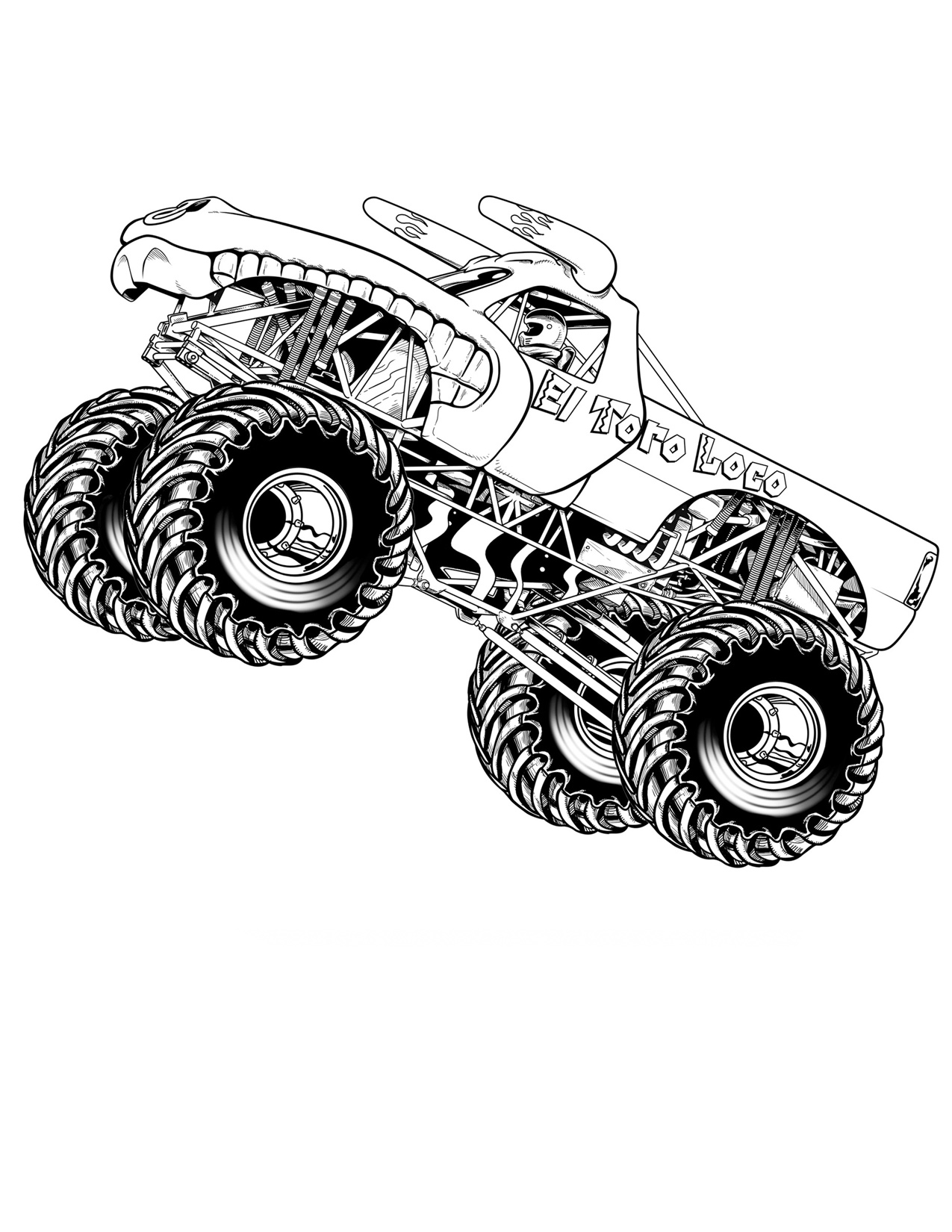 monster truck printable coloring pages free printable monster truck coloring pages for kids coloring truck pages printable monster