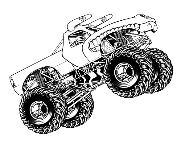 monster truck printable coloring pages monster trucks printable coloring pages all for the boys truck pages printable coloring monster