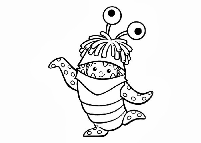 monsters inc boo coloring pages monsters inc coloring pages getcoloringpagescom coloring boo inc monsters pages