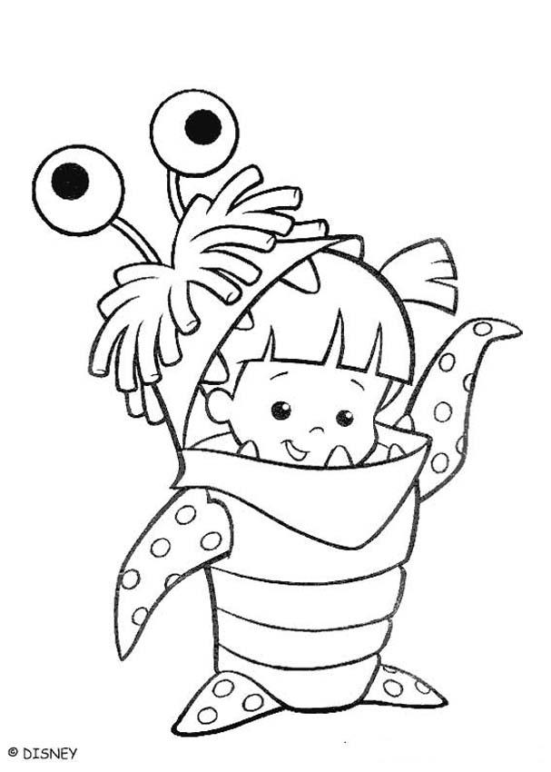 monsters inc boo coloring pages monsters inc coloring pages getcoloringpagescom inc pages monsters boo coloring