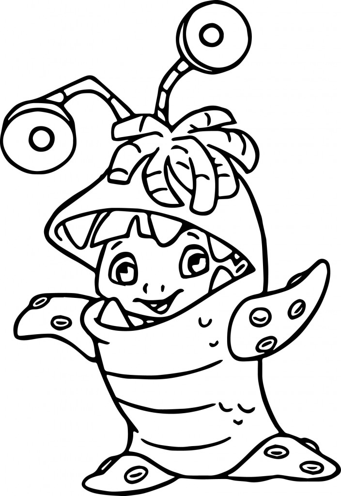 monsters inc boo coloring pages sully boo monsters inc coloring pages pages monsters inc coloring boo