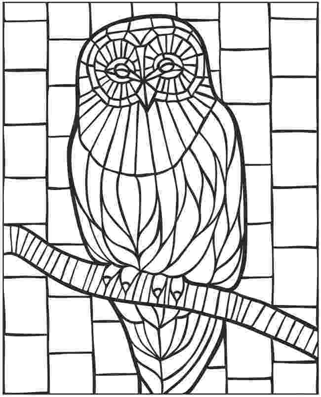 mosaic coloring pages printable mosaic coloring pages to download and print for free mosaic pages coloring printable