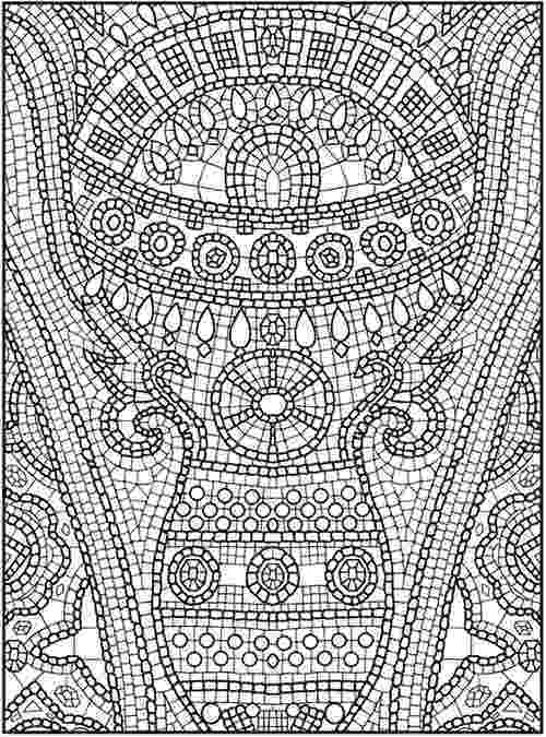 mosaic coloring pages printable traditional islamic mosaic coloring page free printable coloring printable pages mosaic