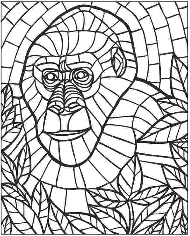 mosaic coloring pages printable welcome to dover publications pages mosaic coloring printable