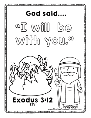 moses coloring pages for preschoolers god takes care of us coloring page project bumblebees preschoolers moses coloring for pages