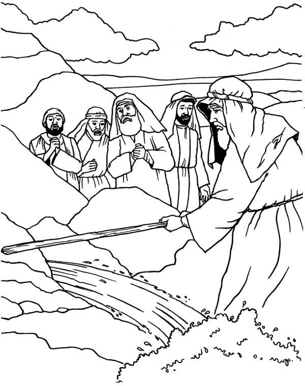 moses coloring sheet moses listen to god through burning bush coloring pages moses sheet coloring