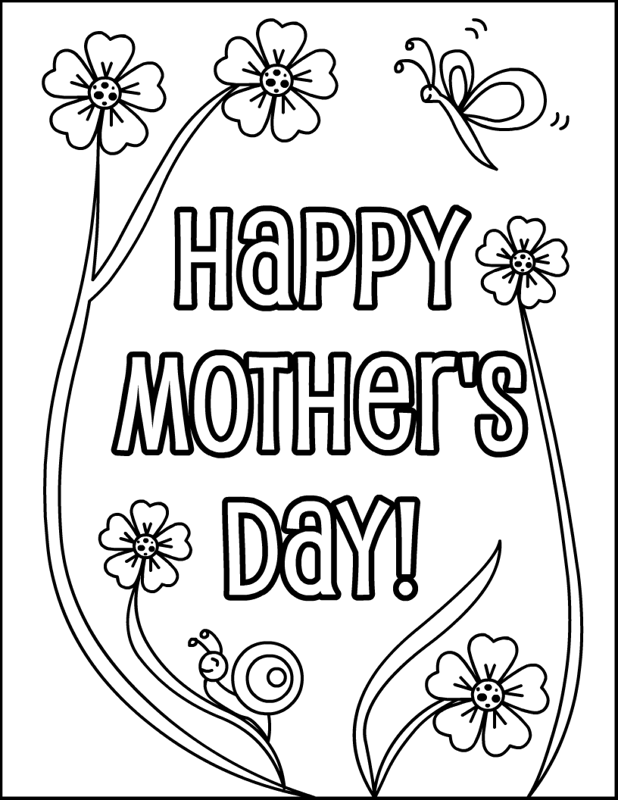 mothers day colouring pages for toddlers card with flowers for mothers day coloring page for kids pages toddlers for day colouring mothers
