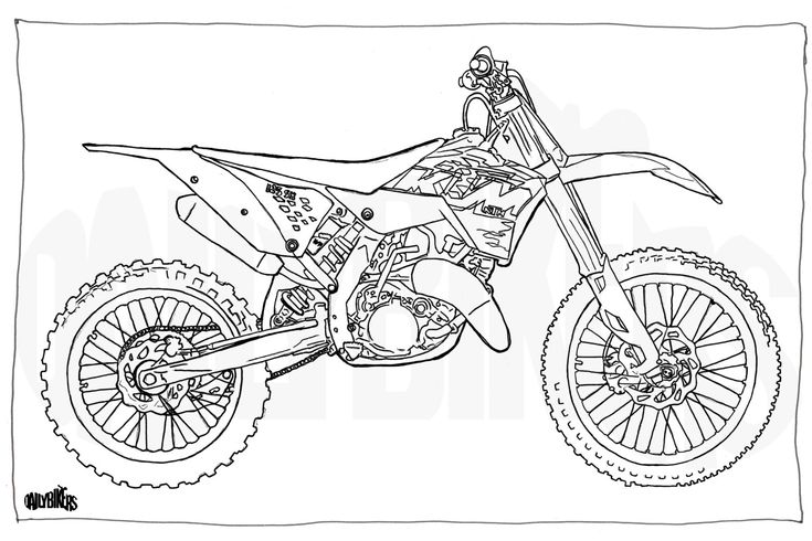 motocross coloring pages fanva motocross pages coloring