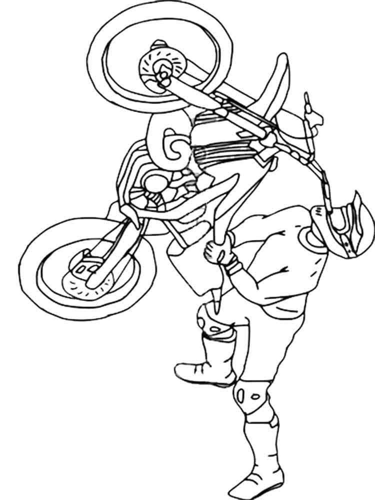 motocross coloring pages freestyle motocross coloring page free printable motocross coloring pages